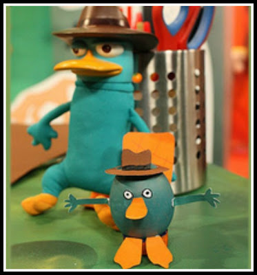 Perry the Platypus Craft for Easter