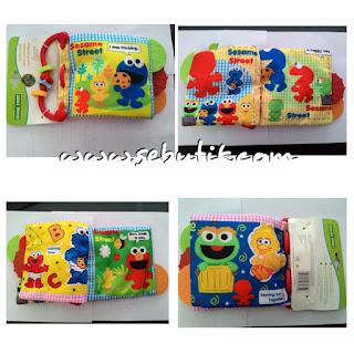 Teether Carter Sesame Street Elmo