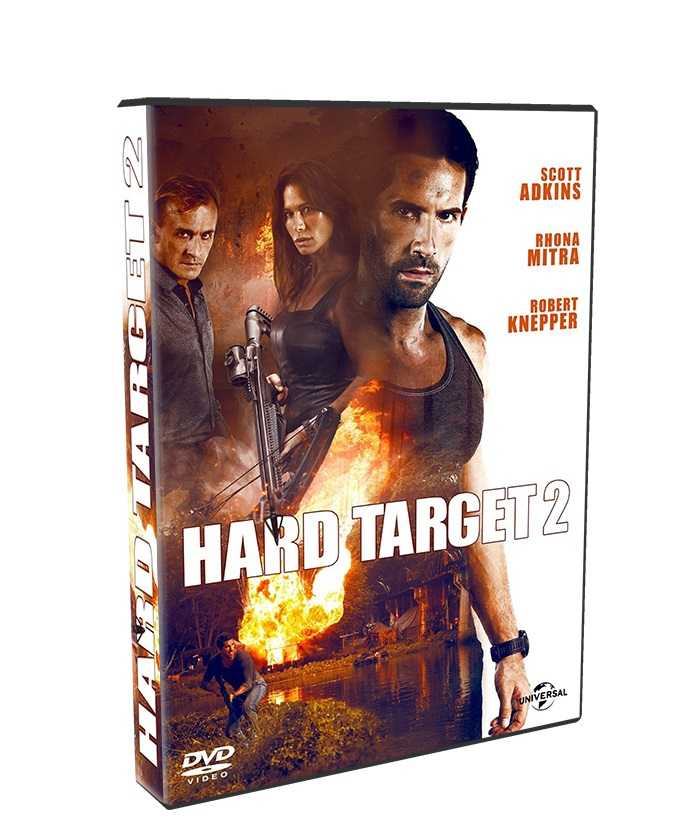Hard Target 2 poster box cover