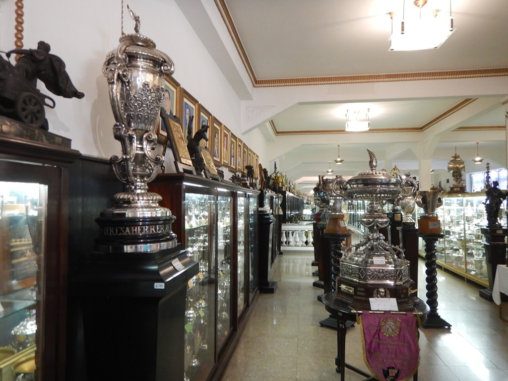 Sala de Troféus do Vasco da Gama