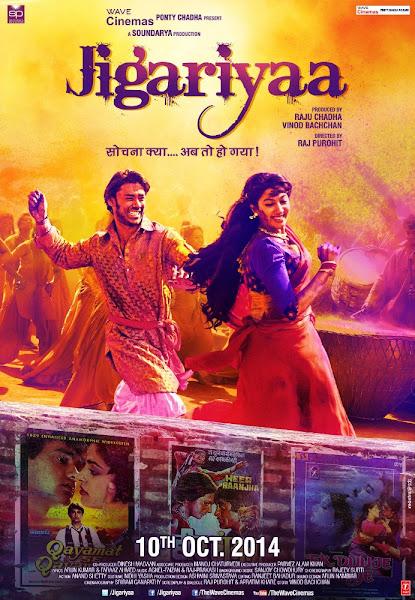 Poster Of Jigariyaa 2014 720p Hindi HDRip Full Movie Download