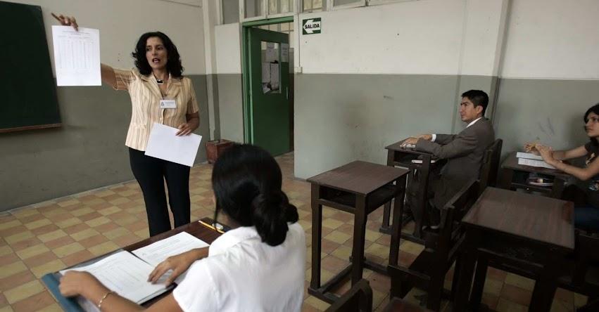 Ley de Reforma Magisterial permitiría jubilación justa para maestros, asegura el Ministerio de Educación - MINEDU