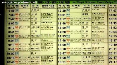 Jadwal Kereta Narita Express