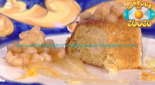 Ciambella alla melannurca e cannella ricetta De Riso da Prova del Cuoco