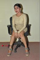 Actress Pooja Roshan Stills in Golden Short Dress at Box Movie Audio Launch  0060.JPG
