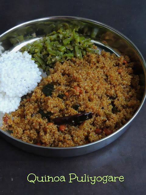 Quinoa Puliyogare, Tamarind Quinoa