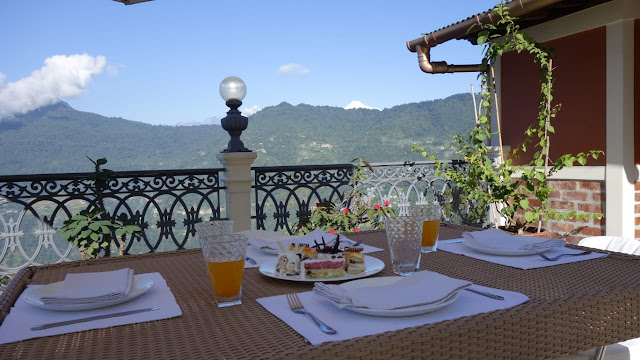 Breakfast with a View in Gangtok
