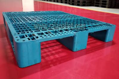 Jual | Harga Pallet Plastik Bekas 120 x 100 x 16 cm Harga Murah Bisa Racking