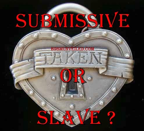 submissive or slave