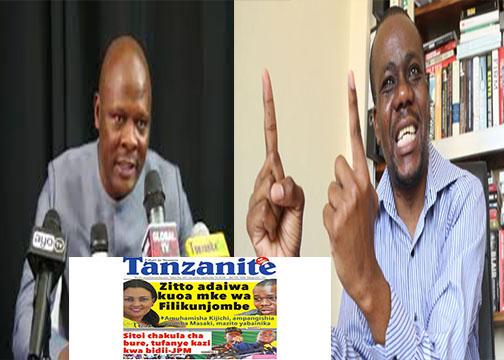 """Zitto Kabwe Amvaa Cyprian Musiba Ampa Siku Moja  """"Ninakikomo cha Mauvu Ila kwa Hili  Kitakachompata Nisilaumiwe"""""""