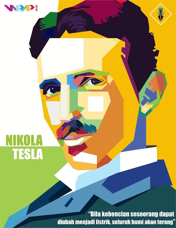 Nikola Tesla in WPAP by Rahman Kamal