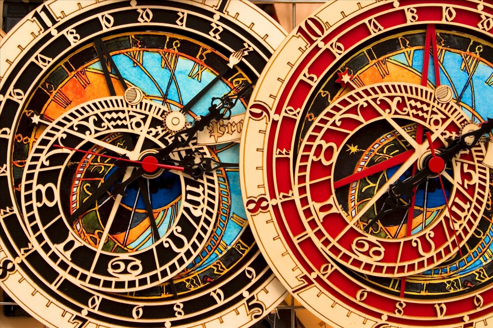 Astronomical Clock Tattoo: Prague Old Town