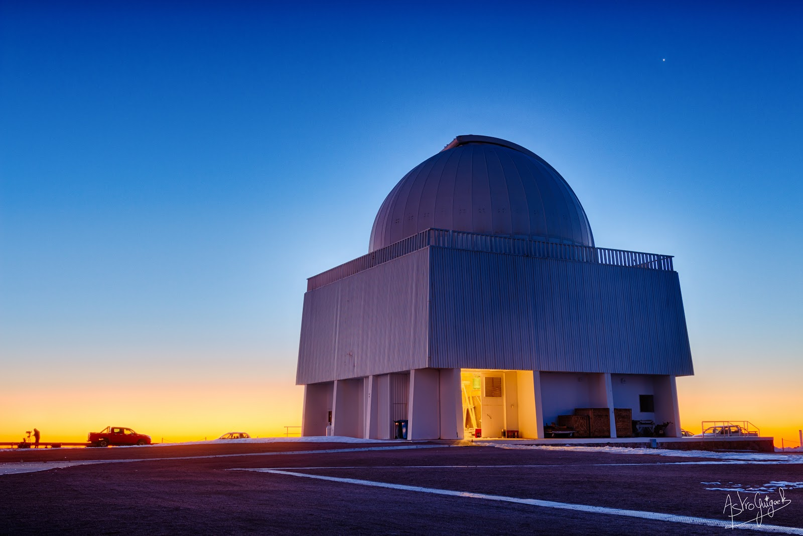 Blue-Hour at the Observatory