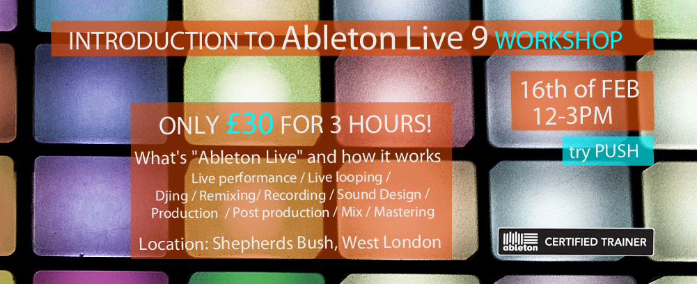 Music Production with Ableton Live 9