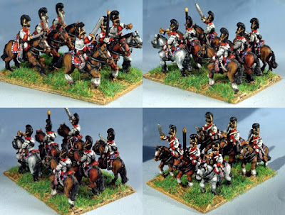 Joint 2nd place: Bavarian Dragoons, by steam flunky - wins £10 Pendraken credit!