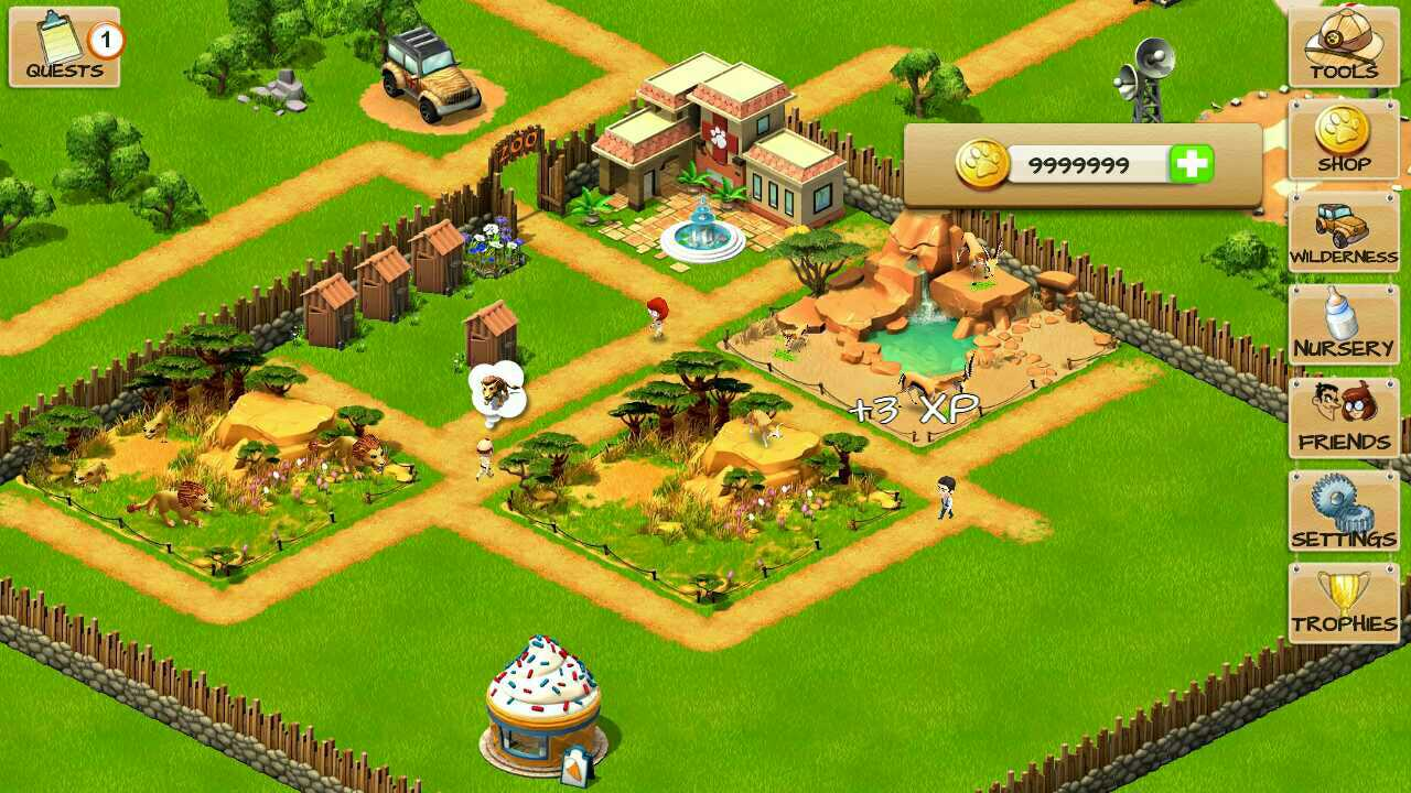 Wonder zoo game for android