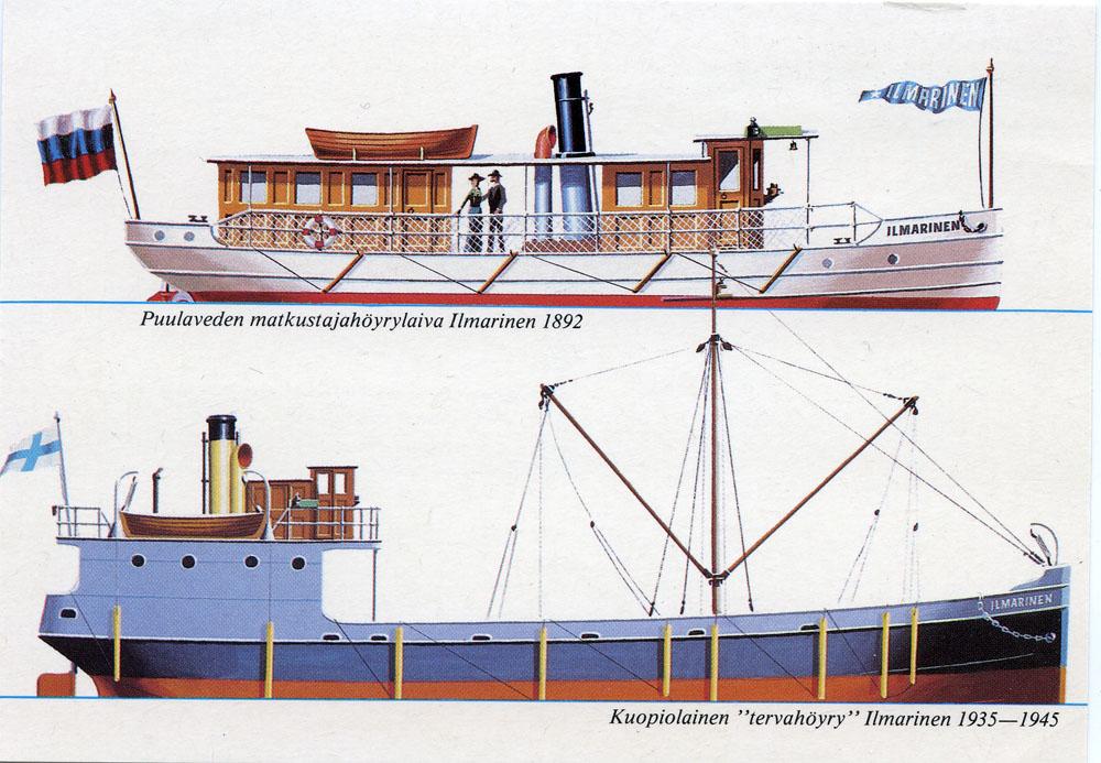 Waaran ja Göranssonien sukua - viikinkien jäljillä: Ilmarinen-nimisiä laivoja aikojen saatossa