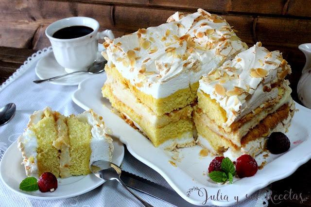 Verdens beste kake. El mejor pastel del mundo. Julia y sus recetas