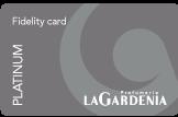 ottenere la carta fedeltà fidelity card la gardenia