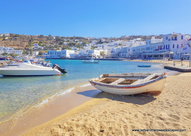 my favorite part of Mykonos