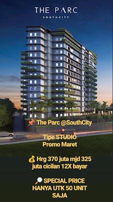 Apartemen Parc South City Pondok Cabe