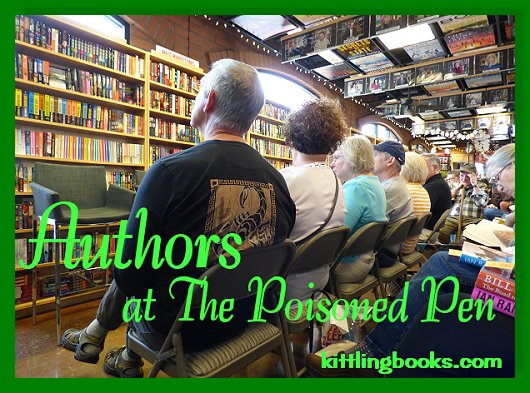 Tim Hallinan & Ed Lin at The Poisoned Pen! ~ Kittling: Books