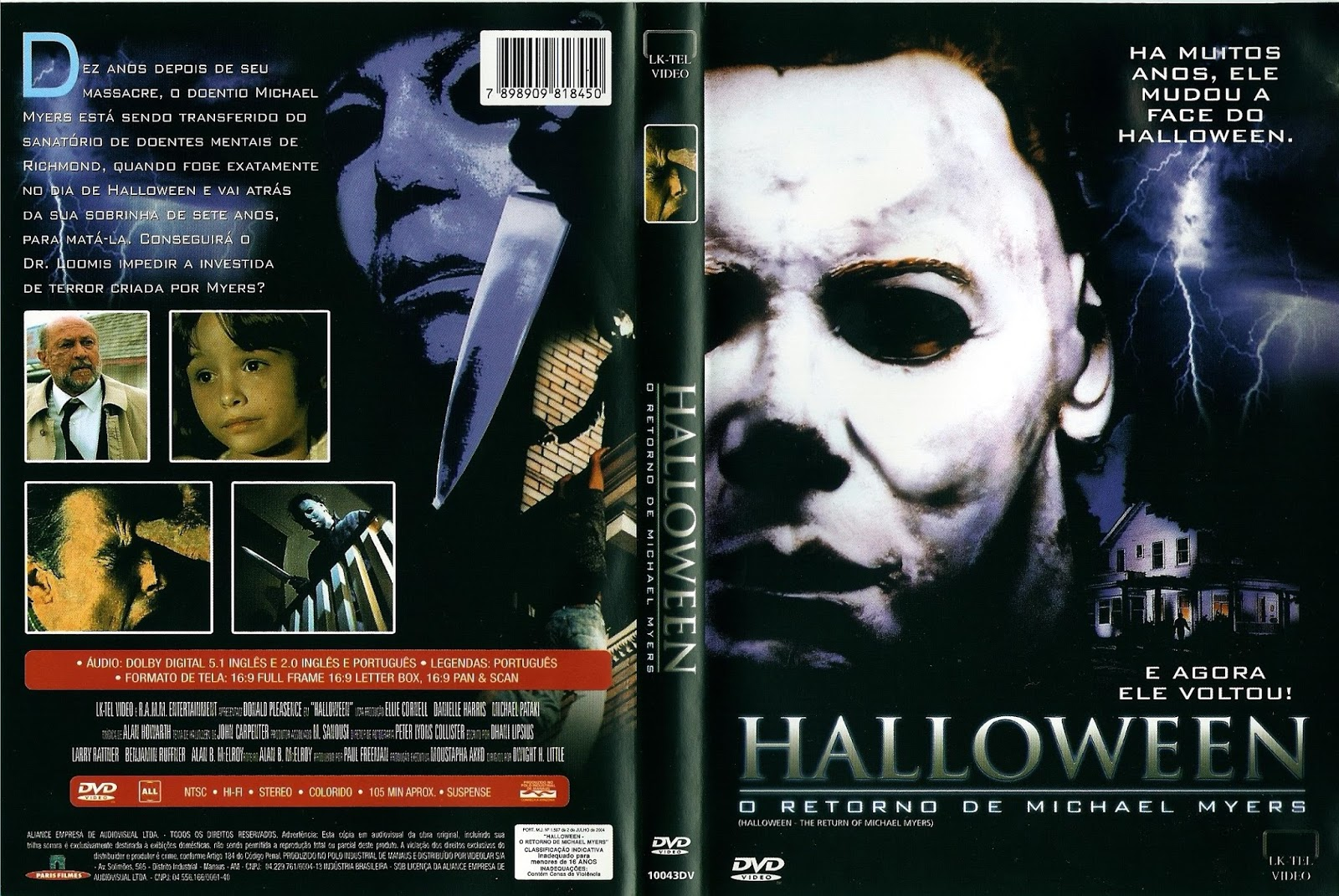 halloween ii vhs cover