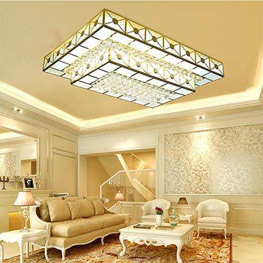 Cách bố trí đèn trang trí phòng khách nhỏ giúp không gian mở rộng thoải mái hơn