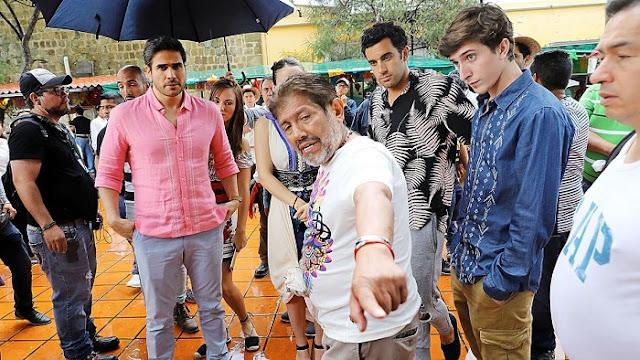 Televisa graba por primera vez una telenovela en Oaxaca y las damas se desmayan por sus artistas