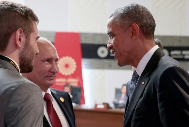 Путін розповів про розмову з Обамою