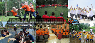 Paket Outbound dan Lava Tour, Outbound dan Rafting, atau Outbound dan Paintball
