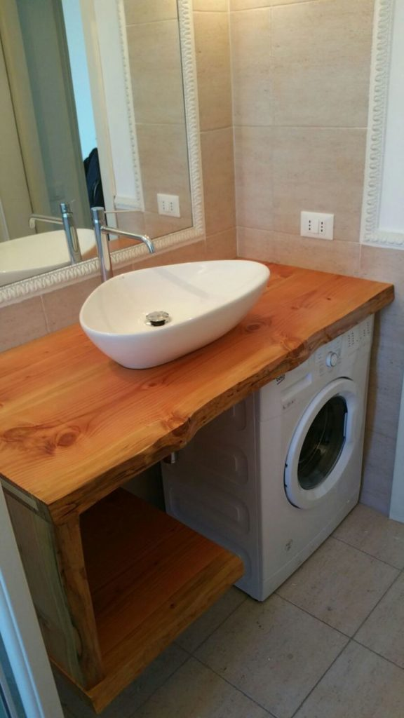 Affordable Small Bathrooms Ideas With Washing Machines ... on Small Space Small Bathroom Ideas With Washing Machine id=23177