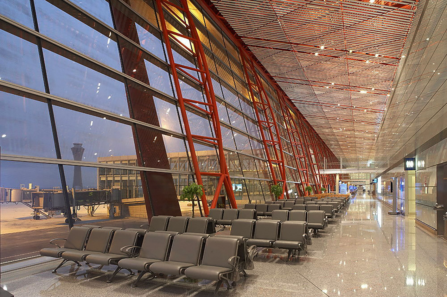 Beijing Airport Foster Amp Partners Art Amp Architecture
