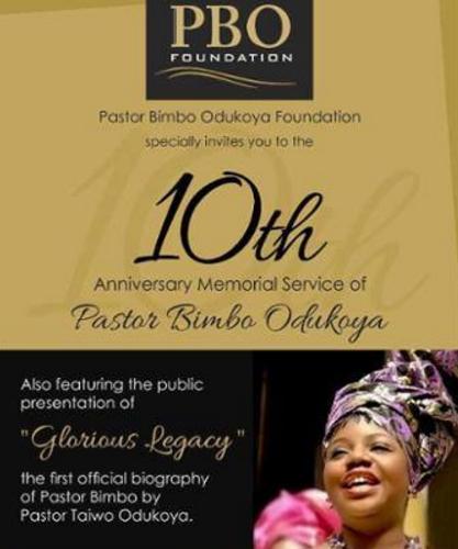pastor bimbo odukoya foundation