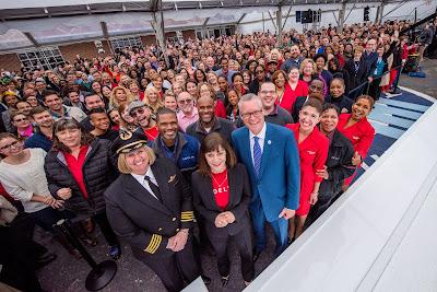 Delta Airlines Profit Sharing Celebration