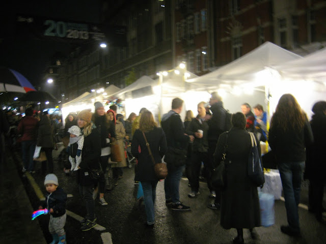 {ErinOutandAbout} Marylebone Village Christmas Lights
