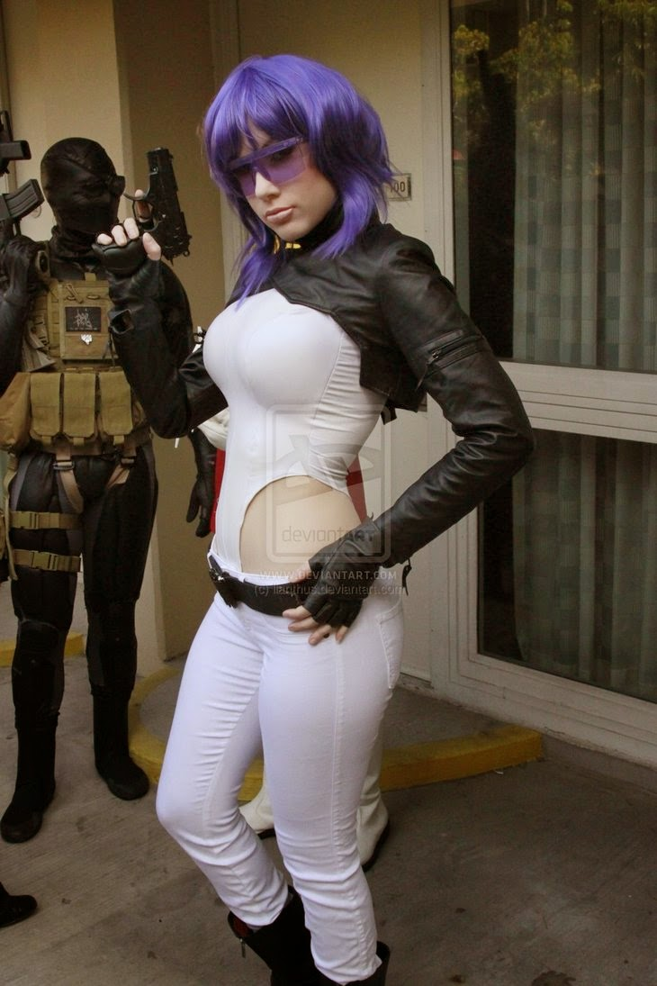 cosplay shell Ghost a in