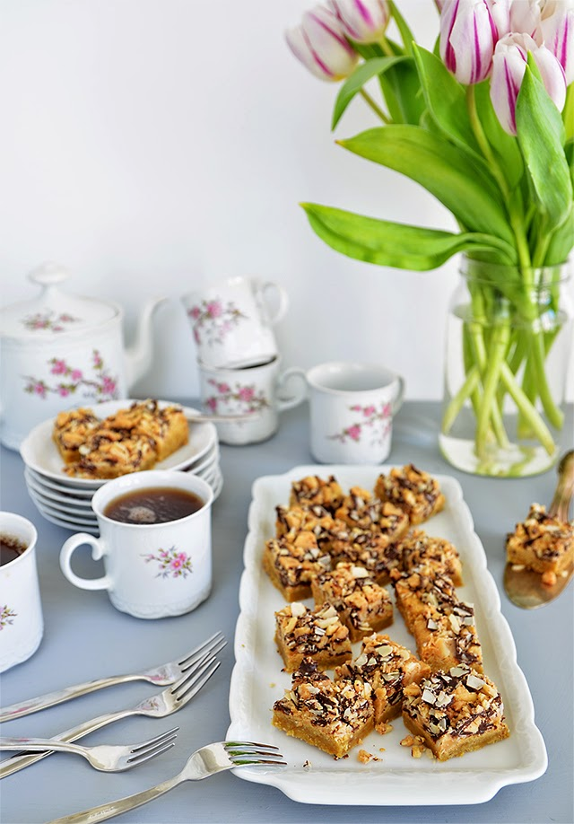 Almond Roca Bars - Cynthia Barcomi