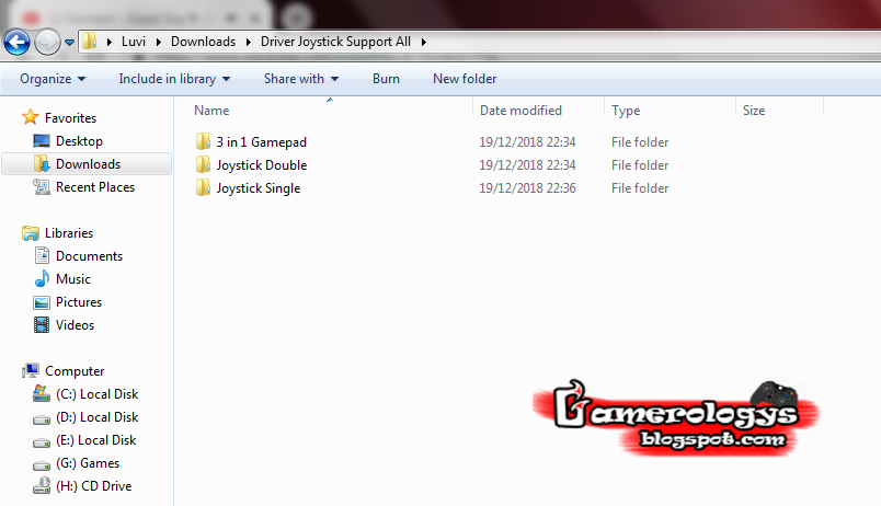 Download Driver USB Joystick Untuk PC - Gamerologys
