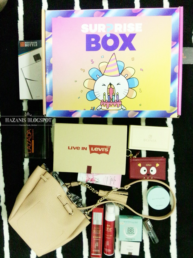 box of joy exclusive from Lazada