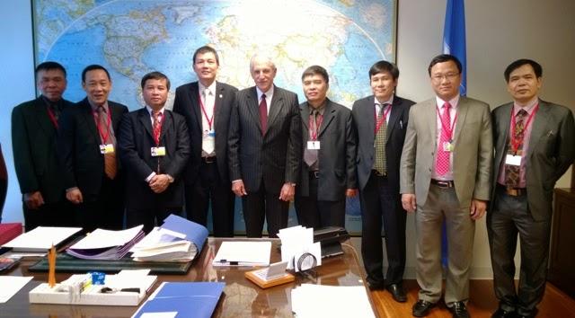 Hoạt động của Đoàn Việt Nam tại Đại hội đồng ICAO 38