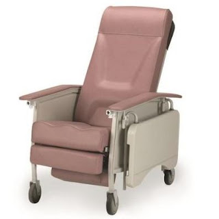 Invacare Deluxe 3-position wheelchair recliner