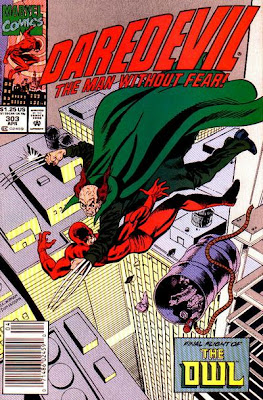Daredevil #303, the death of the Owl