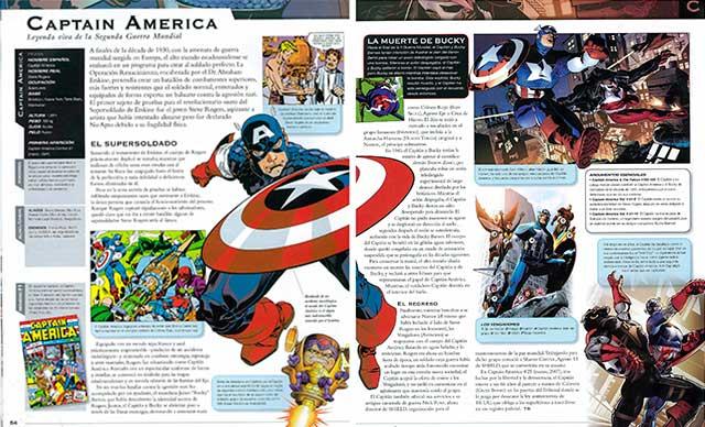 Vista Previa 01 Enciclopedia Marvel en español y PDF
