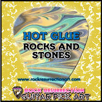 Hot Glue Rocks Tutorial