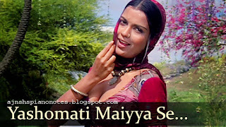 Yashomati Maiya Se Bole Nandlala Piano Notes
