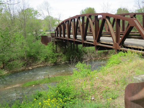 Meigs Creek bridge