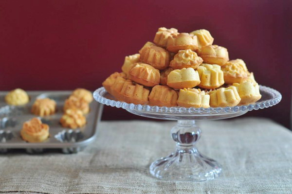 Cách làm Bánh bơ sầu riêng