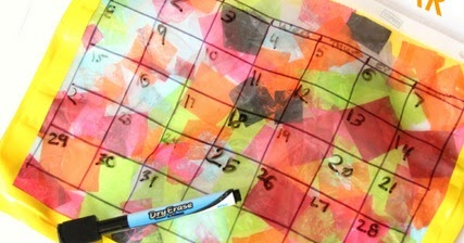 My Many Colored Days Color Feelings Calendar Craft   The OT Toolbox