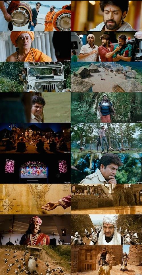 Gajakesari Hindi Dubbed Movie Download